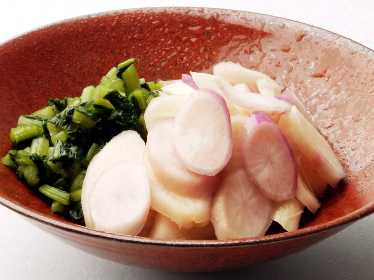 日野菜ヌカ漬