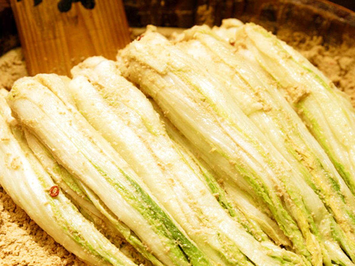 白菜のヌカ漬